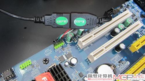 除了power sw线和24pin电源线之外,我们还需要将lcd显示屏电路板上的